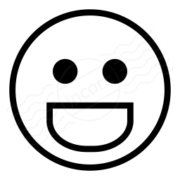 Emoticon Grin Icon 256x256