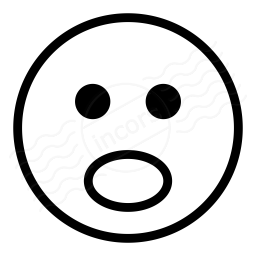 Iconexperience 187 I Collection 187 Emoticon Surprised Icon