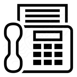 Iconexperience I Collection Fax Machine Icon