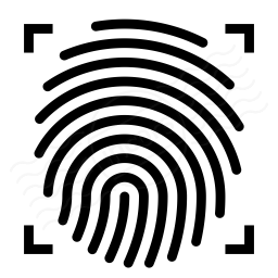 Fingerprint Scan Icon 256x256