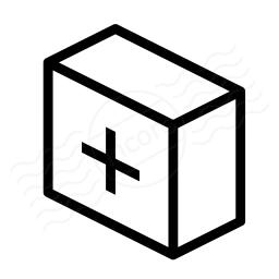First Aid Box Icon 256x256