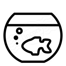 Fish Bowl Icon 256x256