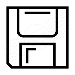 Floppy Disk Icon 256x256