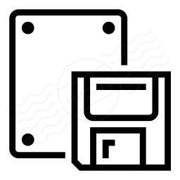Iconexperience I Collection Floppy Drive Icon