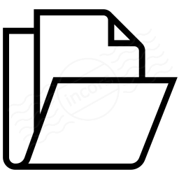 Folder Document Icon 256x256