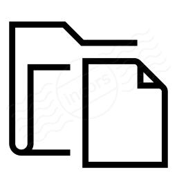 Folder Document 2 Icon 256x256