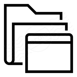 Folder Window Icon 256x256