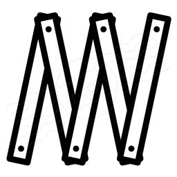 Folding Rule Icon 256x256