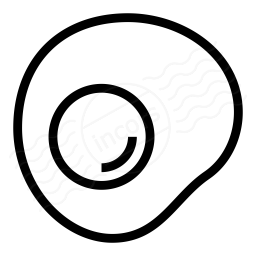 Fried Egg Icon 256x256
