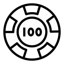 Gambling Chip Icon 256x256