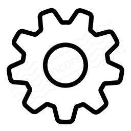 Gearwheel Icon 256x256