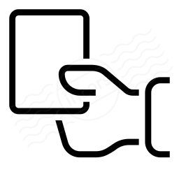 Iconexperience I Collection Hand Card Icon