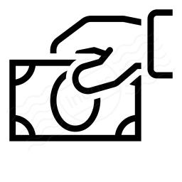 Hand Money Icon 256x256