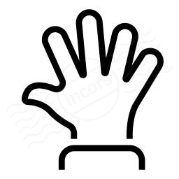 Hand Spread Icon 256x256