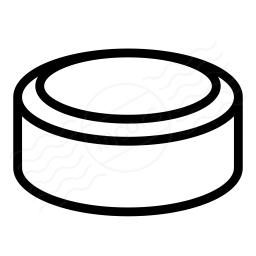 Hockey Puck Icon 256x256