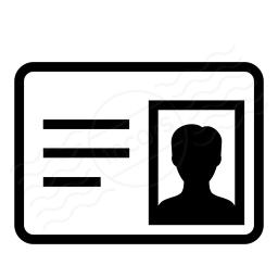 Id Card Icon 256x256