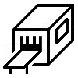 Iconexperience I Collection Industrial Machine Icon