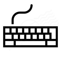 Keyboard Icon 256x256