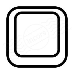 Keyboard Key Empty Icon 256x256
