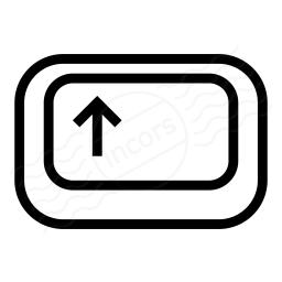 Keyboard Key Shift Icon 256x256