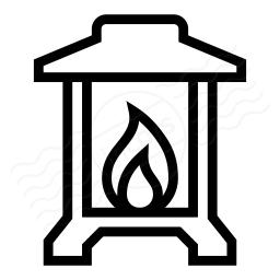 Lantern On Icon 256x256