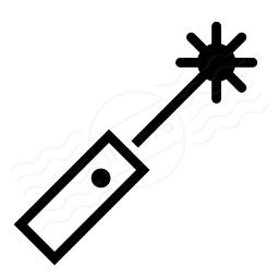 Laser Pointer Icon 256x256