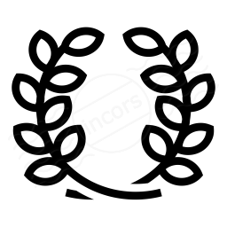 Laurel Wreath Icon 256x256
