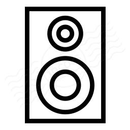 Loudspeaker Box Icon 256x256