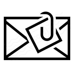 Mail Attachment Icon 256x256