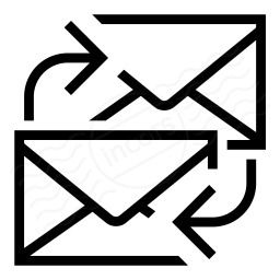 Iconexperience I Collection Mail Exchange Icon