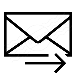 Mail Forward Icon 256x256