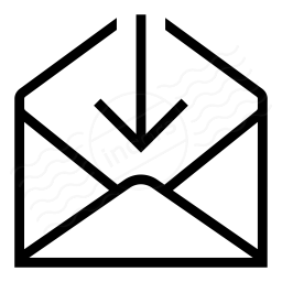 Mail Into Icon 256x256