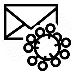 Mail Virus Icon 256x256