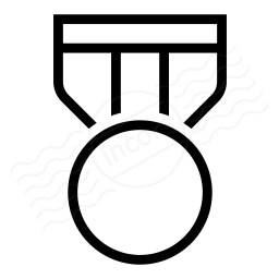 Iconexperience I Collection Medal Icon