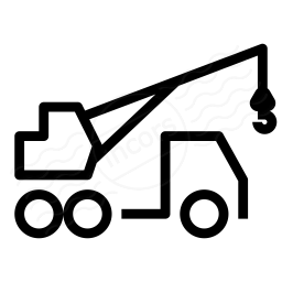 Mobile Crane Icon 256x256