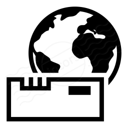 Modem Earth Icon 256x256