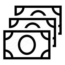 Money Bills Icon 256x256