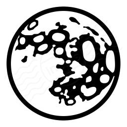 Moon Icon 256x256