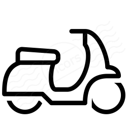 Motor Scooter Icon 256x256