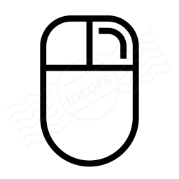 Mouse Right Button Icon 256x256