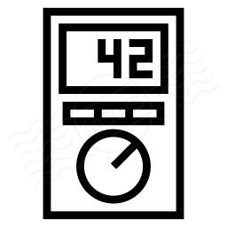 Multimeter Icon 256x256