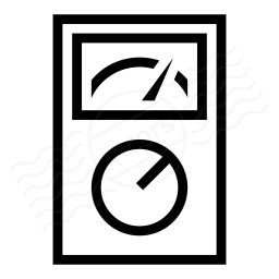 Multimeter Analog Icon 256x256
