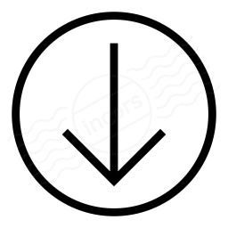 Nav Down Icon 256x256