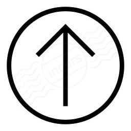 Nav Up Icon 256x256