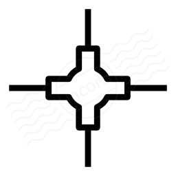 Network Node Icon 256x256