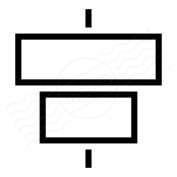 Object Alignment Horizontal Icon 256x256