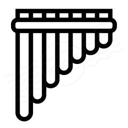 Pan Flute Icon 256x256