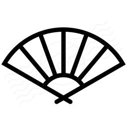 Paper Fan Icon 256x256