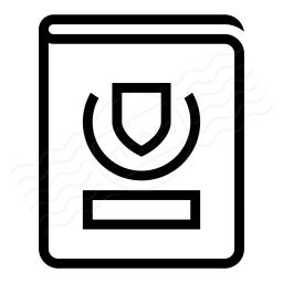 Passport Icon 256x256