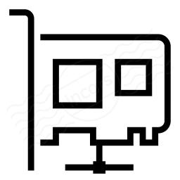 Pci Card Network Icon 256x256